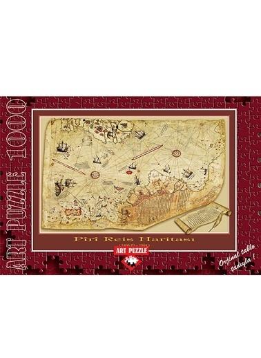 Art Puzzle Art Puzzle 1000 Parça Piri Reis Haritası Renkli